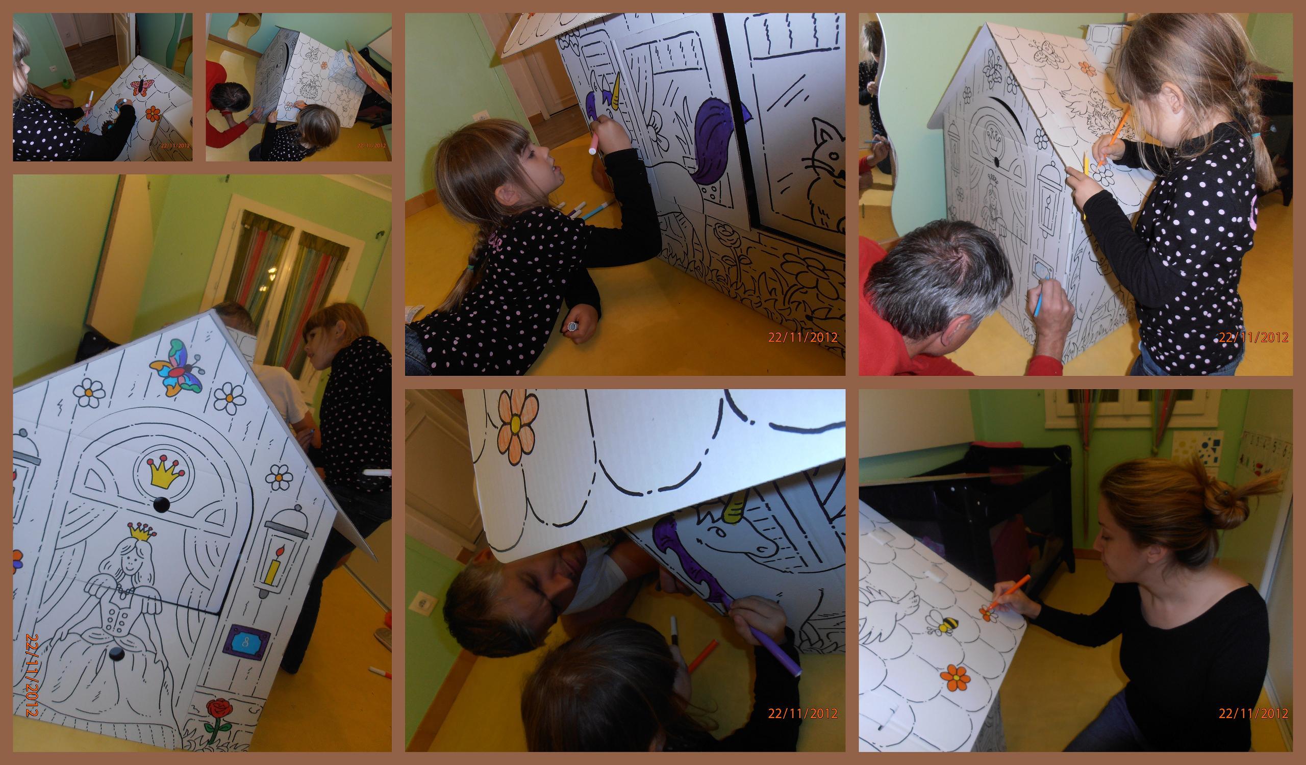 Maison geante a peindre for Maison a peindre